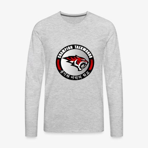 champion Taekwondo t 2018 - Men's Premium Long Sleeve T-Shirt