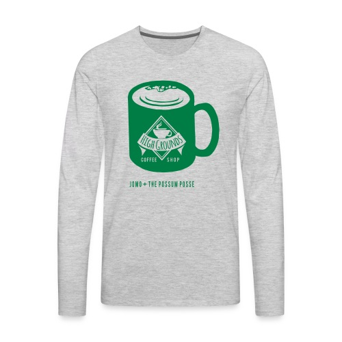 High Grounds Coffee Shop - Men's Premium Long Sleeve T-Shirt