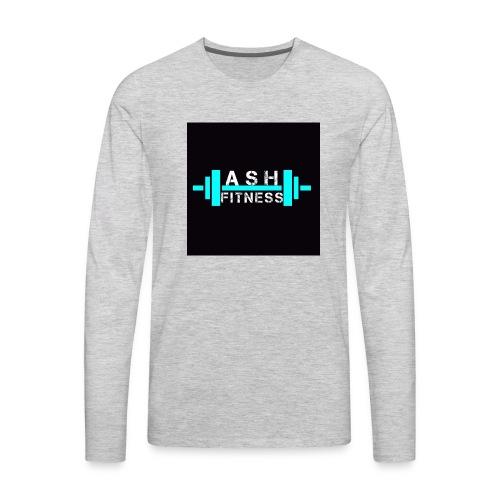 ASH FITNESS ACCESSORIES - Men's Premium Long Sleeve T-Shirt