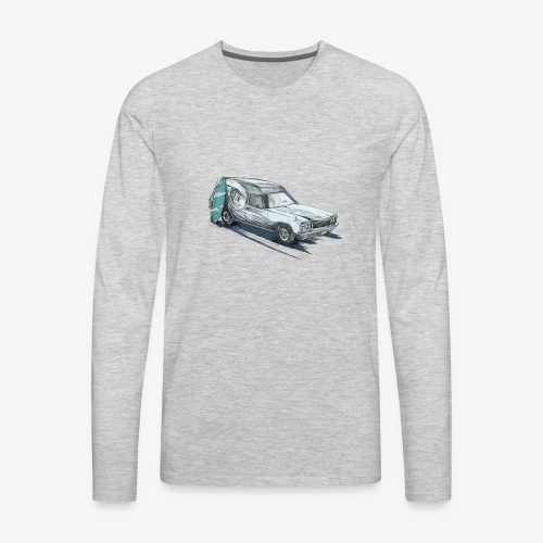 Surfin' Panel Van - Men's Premium Long Sleeve T-Shirt