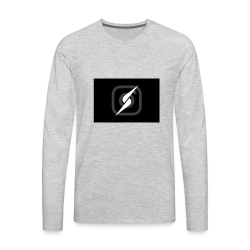 Lucas and andres Logo merch - Men's Premium Long Sleeve T-Shirt