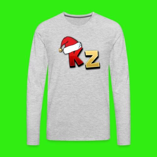 KaptainZay Christmas - Men's Premium Long Sleeve T-Shirt