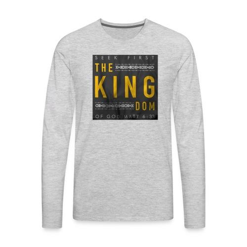 Seek The Kingdom - Men's Premium Long Sleeve T-Shirt