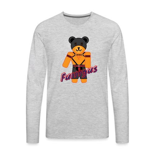 Leather Furrrgus - Men's Premium Long Sleeve T-Shirt