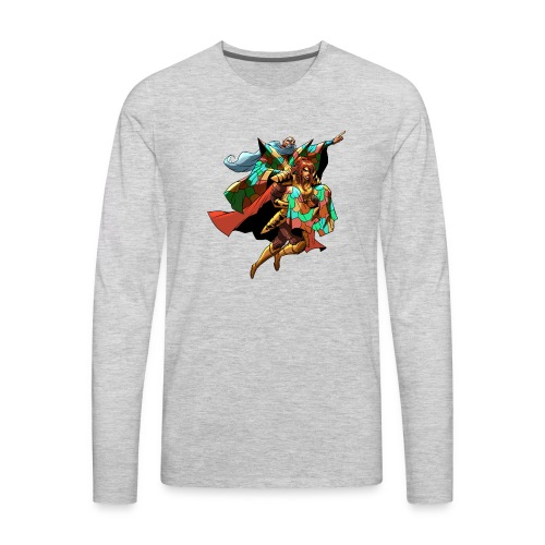 THAMRO MUSH Tee - Men's Premium Long Sleeve T-Shirt