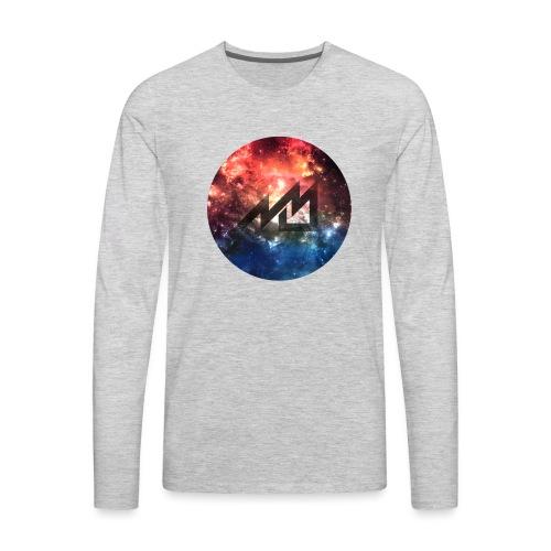 Space MrMan2247 Logo - Men's Premium Long Sleeve T-Shirt