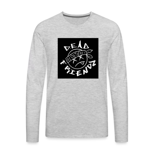 D.E.A.D FRIENDZ Records - Men's Premium Long Sleeve T-Shirt