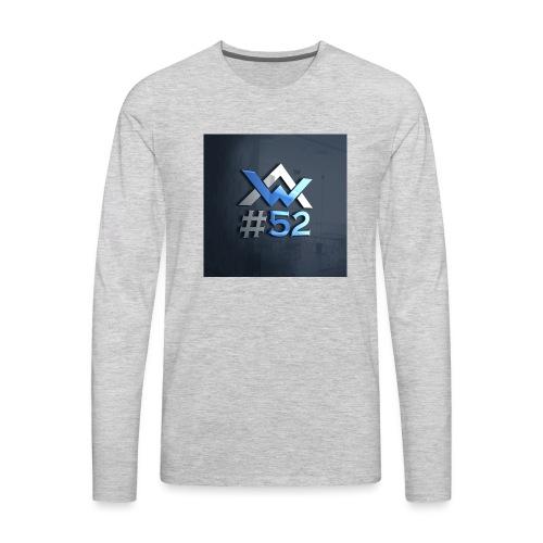AW Logo - Men's Premium Long Sleeve T-Shirt