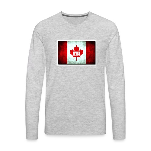 Canada EH By Jamal J. Brands - Men's Premium Long Sleeve T-Shirt