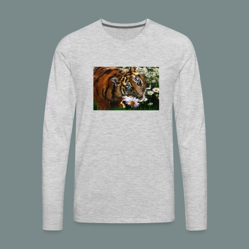 Tiger flo - Men's Premium Long Sleeve T-Shirt