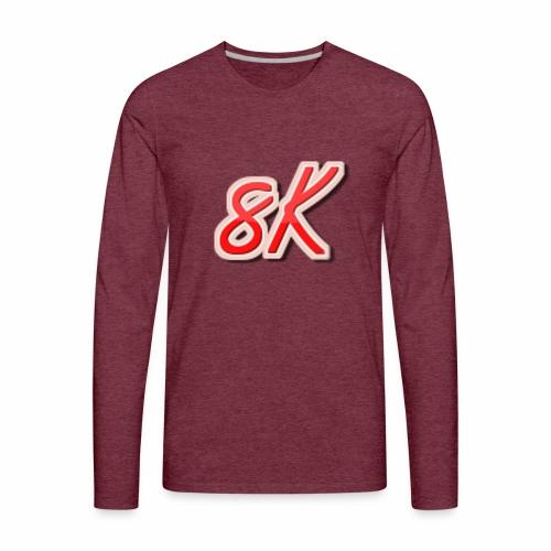 8K - Men's Premium Long Sleeve T-Shirt