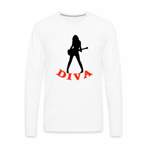 Rock Star Diva - Men's Premium Long Sleeve T-Shirt