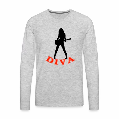 Rock Star Diva - Men's Premium Long Sleeve T-Shirt
