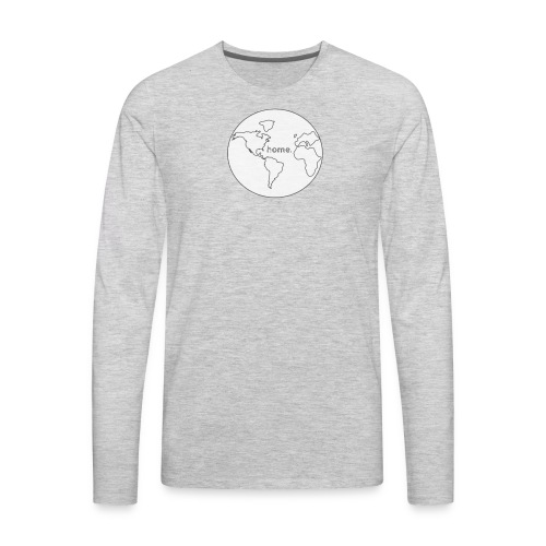 Earth is Home - Men's Premium Long Sleeve T-Shirt