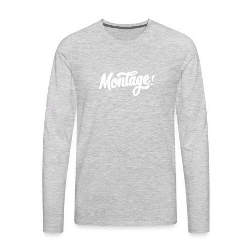 Montage - Men's Premium Long Sleeve T-Shirt