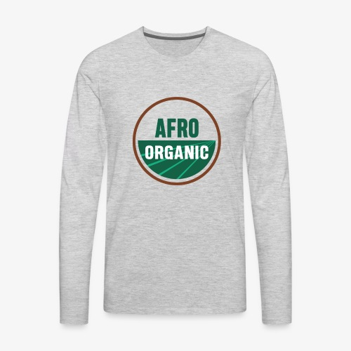 Afro Organic - Men's Premium Long Sleeve T-Shirt
