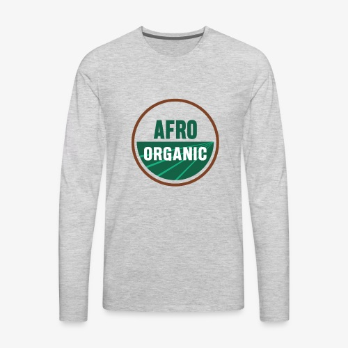 Afro Organic - Men's Premium Long Sleeve T-Shirt