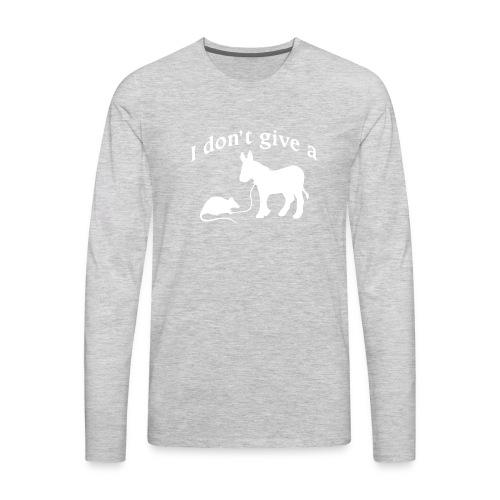 rats-ass-2 - Men's Premium Long Sleeve T-Shirt