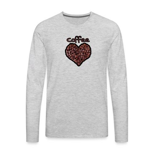 Coffee Lover - Men's Premium Long Sleeve T-Shirt