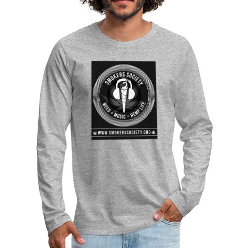 Smokers Society - Men's Premium Long Sleeve T-Shirt