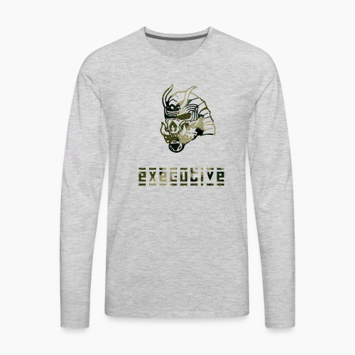 camo_exec - Men's Premium Long Sleeve T-Shirt