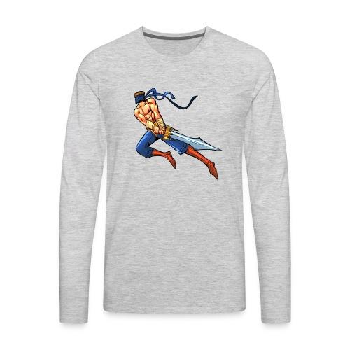 THAMRO JUMP - Men's Premium Long Sleeve T-Shirt