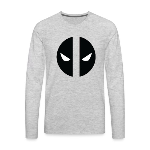 Deadpool Eyes.png - Men's Premium Long Sleeve T-Shirt