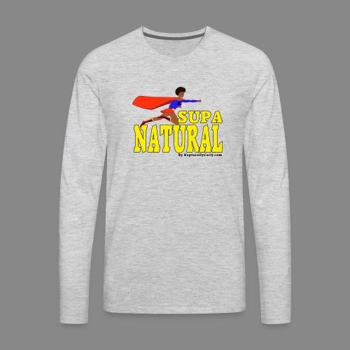 Supa Natural - Men's Premium Long Sleeve T-Shirt
