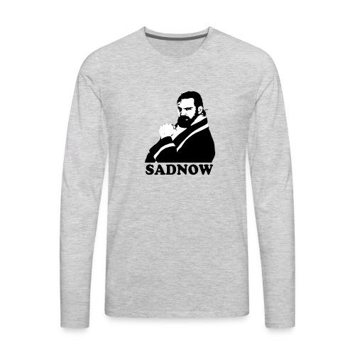 MEGAPOWERS RADIO SADNOW MENS TSHIRT - Men's Premium Long Sleeve T-Shirt