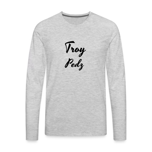 Name Logo - Men's Premium Long Sleeve T-Shirt