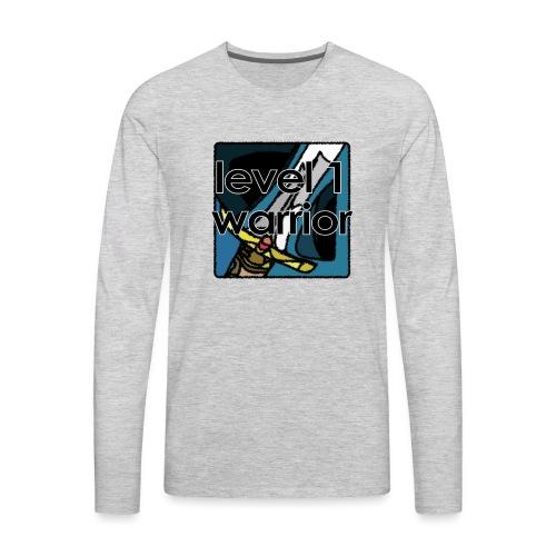 Warcraft Baby: Level 1 Warrior - Men's Premium Long Sleeve T-Shirt