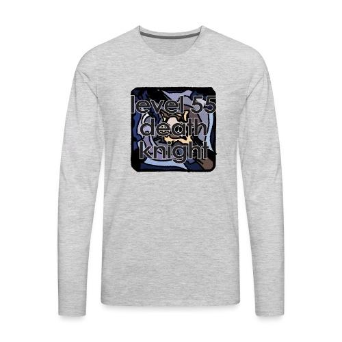 Warcraft Baby: Level 55 DK - Men's Premium Long Sleeve T-Shirt
