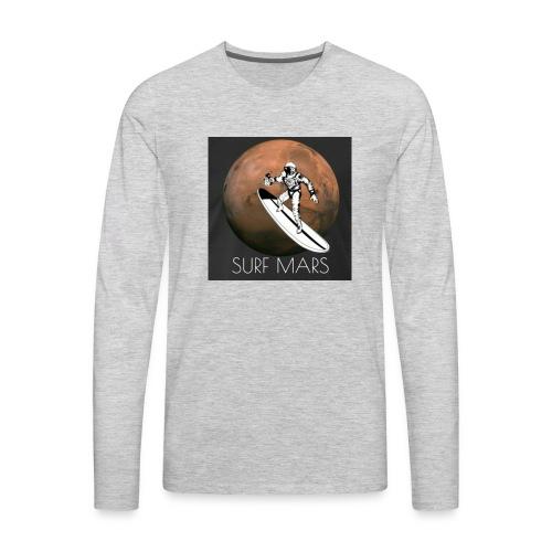 space surfer - Men's Premium Long Sleeve T-Shirt