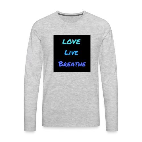 The Day Shift Academy Blue LLB Design - Men's Premium Long Sleeve T-Shirt