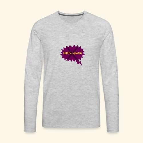 Princess Lishakins Corrected - Men's Premium Long Sleeve T-Shirt