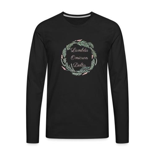 LOD Flower Wreath 1 - Men's Premium Long Sleeve T-Shirt