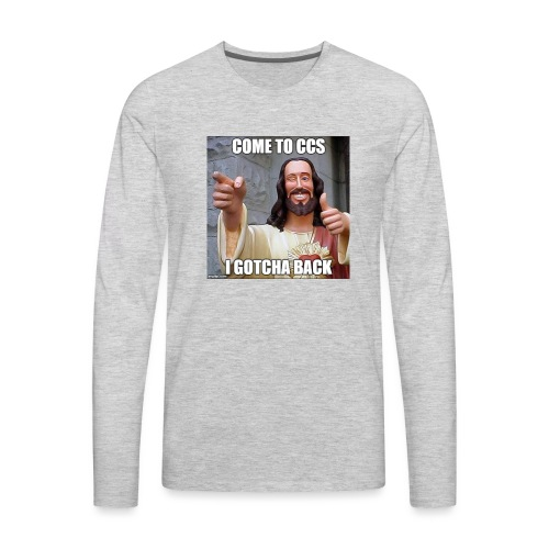 CHCCS memes design 1 - Men's Premium Long Sleeve T-Shirt