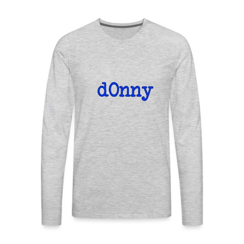 d0nny - Men's Premium Long Sleeve T-Shirt