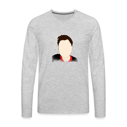 logo for crainingaming - Men's Premium Long Sleeve T-Shirt
