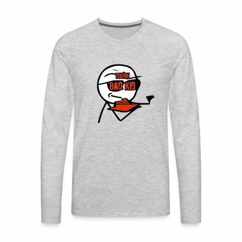 BAD KID - Men's Premium Long Sleeve T-Shirt