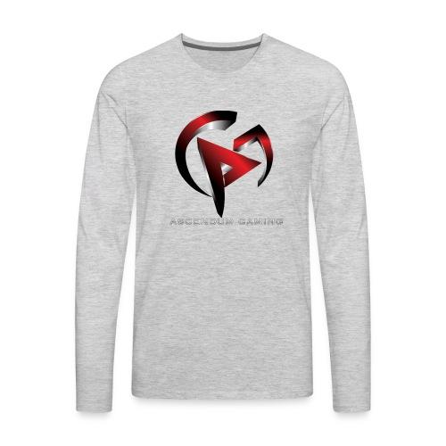 Ascendum Gaming Logo - Men's Premium Long Sleeve T-Shirt