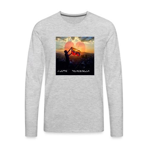 venezuela - Men's Premium Long Sleeve T-Shirt