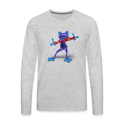 Logo - Nem Sei o Que Dizem - Podcast - Men's Premium Long Sleeve T-Shirt