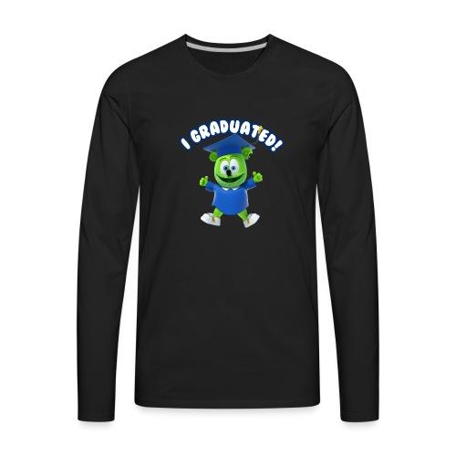I Graduated! Gummibar (The Gummy Bear) - Men's Premium Long Sleeve T-Shirt