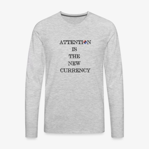 The New Money - Men's Premium Long Sleeve T-Shirt