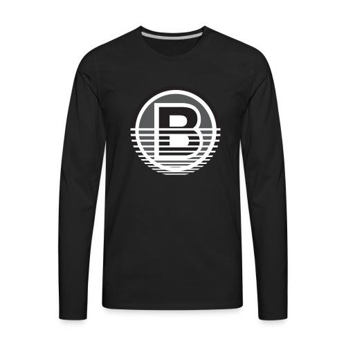 Backloggery/How to Beat - Men's Premium Long Sleeve T-Shirt