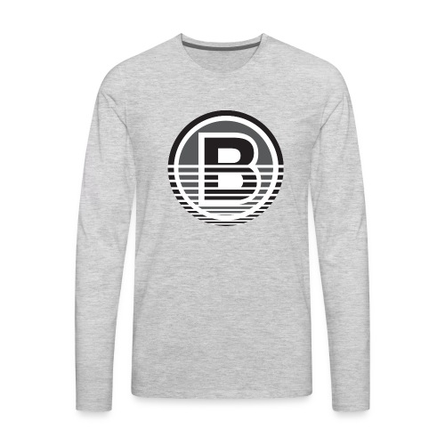 Backloggery/How to Beat - Men's Premium Long Sleeve T-Shirt