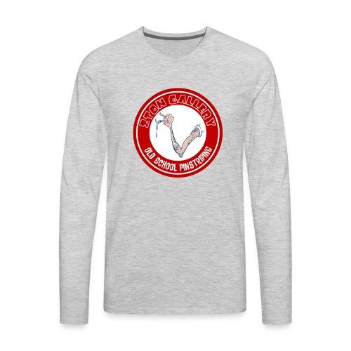 pinstripinghammerspread - Men's Premium Long Sleeve T-Shirt
