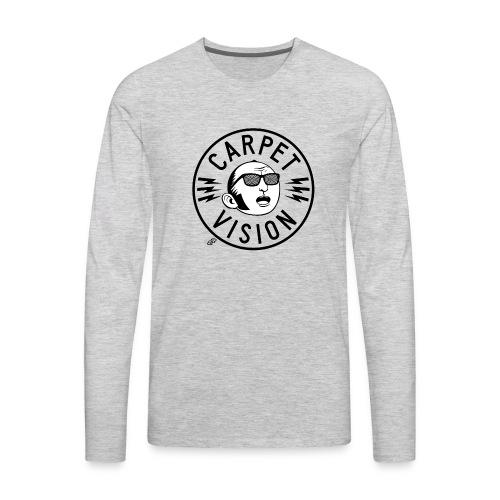 Carpet Vision final png - Men's Premium Long Sleeve T-Shirt