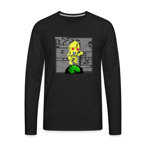Hollow Earth Mug - Men's Premium Long Sleeve T-Shirt